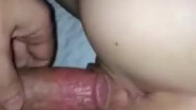 Buen orgasmo aplastante con mi marido lleno de semen
