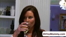 Veronica avluv talks to her new extra long toy