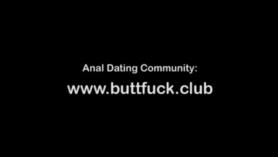 Abre anal de mi hermanastra adolescente en su primera experiencia de DP