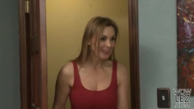 Busty kristen scott likes to suck loads of fresh cum, while in front of the camera