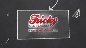 Old teacher in outdoor sex games