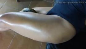 Twink latino fuerte se folla a su primera BBH