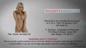 Sarah vandella is being a very naughty girl while having a vacation with a crazy guy