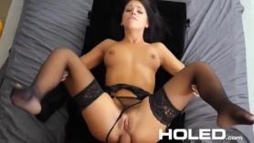 Chrissy skye takes a cock