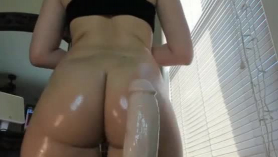 Astonishing blonde is a very seductive, pro, blonde girl who likes to be fucked very hard