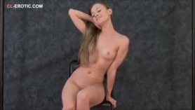 Flexible chloe and agnes are taking turns sucking their client's dick, while his wife is at work