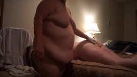 Horny hubby fucking two ladies