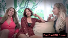 Syren skye and tara cole went to their lover's bedroom for many minutes to make love