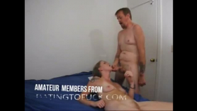 Emo mature enjoys sucking a cock and getting pounded in the middle of the day