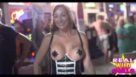 Two sluts go for an interracial rimjob