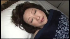 Japanese mom is moaning while having sex with her step- son, because it feels so fucking good