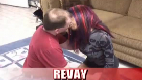 Horny husband fucked his wife's mom at the same time, because it excites him a lot