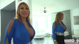Ava devine is a big titted, blonde milf with a huge ass who likes to fucking